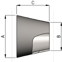 Hygeinic Concentric Reducer Dimensions