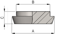 DIN Blank Dimensions