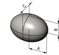 Ellipsoid Volume Calculator