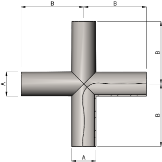 Hygeinic Cross Dimensions