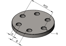 Pcd Calculator With Measurement In Holes